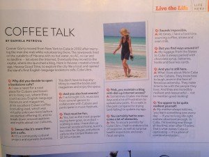 Islands, Live the Life: Coffee Talk